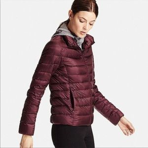 Uniqlo Ultra Light Packable Down Jacket Burgundy M